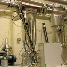 Dry solids mass flowmeters – in preparation